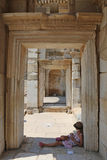 Ephesus Tourist Stock Photo