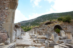 Ephesus in Turkey Royalty Free Stock Photo