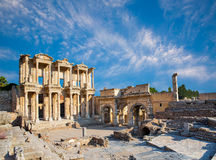 Ephesus, Turkey. Celsus Library in Ephesus, Turkey Royalty Free Stock Photos
