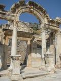 Temple of Hadrianus, Ephesus in Turkey. Royalty Free Stock Image