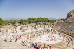 Ephesus, Turkey. View of the antique Theater. Presumably built in 133 BC Stock Images