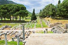Ephesus Turkiet Royaltyfria Foton
