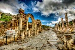 Ephesus Turkiet Arkivbild