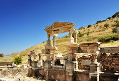 Ephesus. Turkije Royalty-vrije Stock Foto