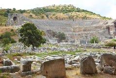 Ephesus in Turkije Royalty-vrije Stock Afbeeldingen