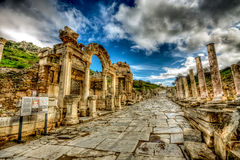 Ephesus, Turkije Stock Fotografie