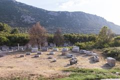 Ephesus, Turkije Mythologie, boog stock afbeeldingen