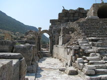 Ephesus. Turkish antigue city of Ephesus Royalty Free Stock Photos