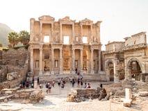 Ephesus the UNESCO World Heritage Site. Selcuk, Izmir, Turkey - September 13, 2016: Ephesus or Efes the popuplar ancient city stock photo