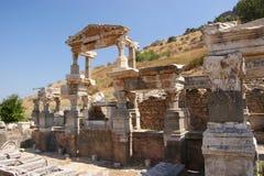 Ephesus, vecchia costruzione Immagine Stock