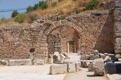 Ephesus, vecchio cancello Fotografia Stock Libera da Diritti