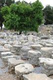 Ephesusoverblijfselen royalty-vrije stock foto