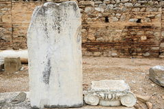 Ephesusoverblijfselen royalty-vrije stock afbeeldingen