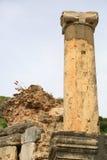 Ephesusoverblijfselen stock afbeeldingen