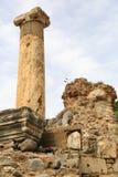 Ephesusoverblijfselen stock fotografie