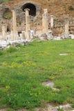 Ephesusoverblijfselen stock afbeelding