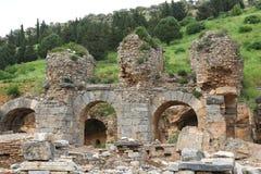Ephesusoverblijfselen royalty-vrije stock afbeelding