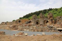 Ephesusoverblijfselen royalty-vrije stock foto's