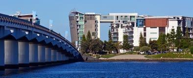 Ephraim海岛英属黄金海岸昆士兰澳大利亚 库存照片