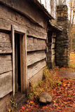 Ephraim Bales Cabin Entrance Royalty Free Stock Images