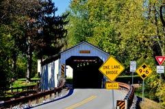 Ephrata, PA: Καλυμμένη μύλος γέφυρα Keller Στοκ εικόνα με δικαίωμα ελεύθερης χρήσης