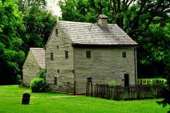 Ephrata, PA: Σπίτι του Conrad Beissel Στοκ φωτογραφία με δικαίωμα ελεύθερης χρήσης