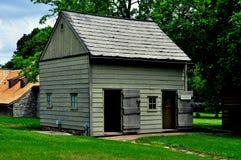 Ephrata PA: Byggnad för utställning för Ephrata klosterhusägare Royaltyfria Foton