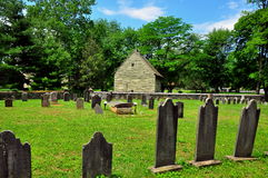 Ephrata, PA: God's Acre Burial Ground Stock Photo