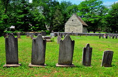 Ephrata, PA: God's Acre Burial Ground Stock Photography