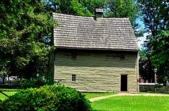 Ephrata, PA: Het Huis van de wever bij Ephrata-Klooster Royalty-vrije Stock Fotografie