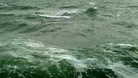 Epic beautiful atmospheric wild sea in 1080p. Epic atmospheric and golden wild sea in 1080p stock video