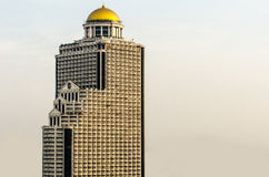 Epic building. The epic building in bangkok city near chaophaya river Stock Images