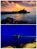 Epic Evening And Night Pack Royalty Free Stock Photography