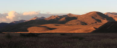 High country at Sunset Stock Photography