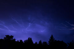 Epic Lightning Royalty Free Stock Photo