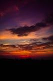 Epic Pastoral Seascape Sunset Royalty Free Stock Image