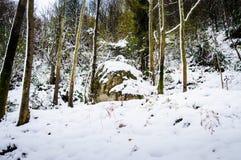 Epic Pastoral Winter Landscape Royalty Free Stock Image