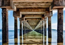 Epic Pier-Jetty in Rawai Phuket Thailand  Royalty Free Stock Images