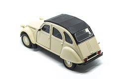 An epic rear Citroen 2CV car royalty free stock photos