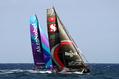 Volvo Ocean Race 2017-18 royalty free stock images