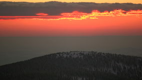 Epic Sunrise stock video footage