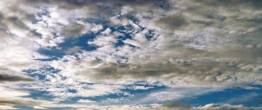Epic sunset on sky. Epic sunset on blue sky Stock Image