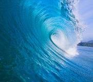 Epic Surfing Wave Stock Images