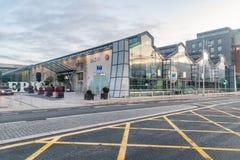 Free EPIC The Irish Emigration Museum At Sunrise Royalty Free Stock Photography - 166621187