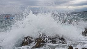 Epic wave. An epic wave Royalty Free Stock Photo