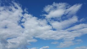 epic are your s6 edge fluffy clouds 20150506_160602 Stock Image