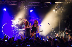 Epica in concert Royalty Free Stock Images