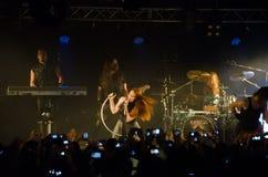 Epica concert Royalty Free Stock Photos
