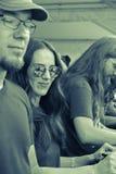 Epica-Metallband lizenzfreie stockbilder