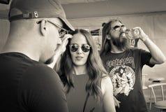 Epica-Metallband lizenzfreie stockfotos